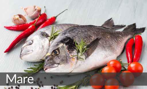 menu degustazione mare