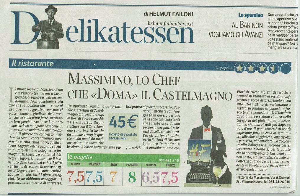 Massimino: lo chef che doma il Castelmagno