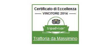 Logo Certificato Eccellenza Tripadvisor 2014